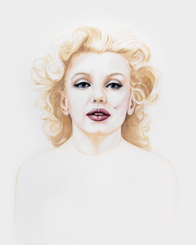 Marilyn - Marleen Maria ten Have – Amsterdam - Schilderijen, paintings, portretten, portraits