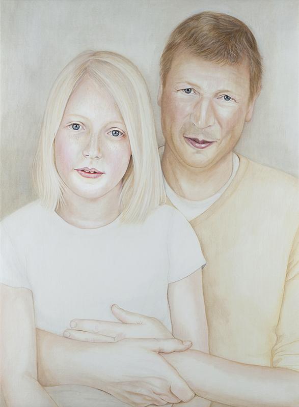 Wouter & Vivian - Marleen Maria ten Have – Amsterdam - Schilderijen, paintings, portretten, portraits