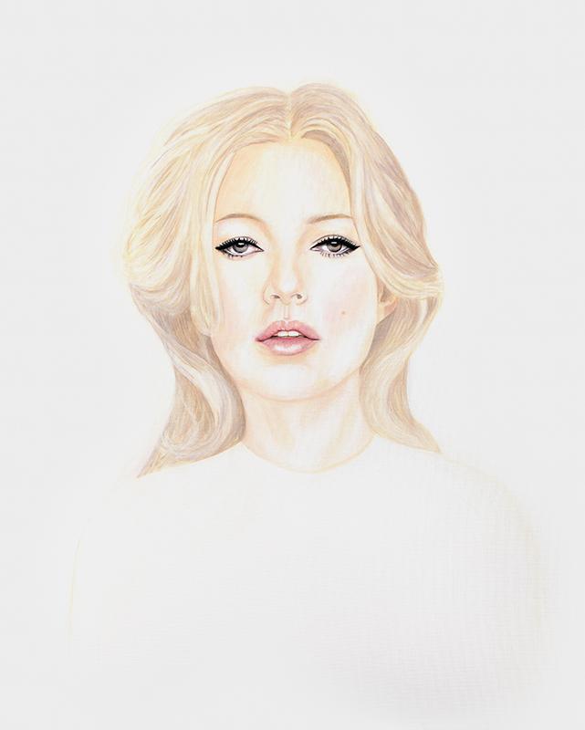 Kate - Marleen Maria ten Have – Amsterdam - Schilderijen, paintings, portretten, portraits