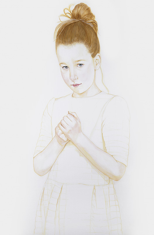 Leah - Marleen Maria ten Have – Amsterdam - Schilderijen, paintings, portretten, portraits