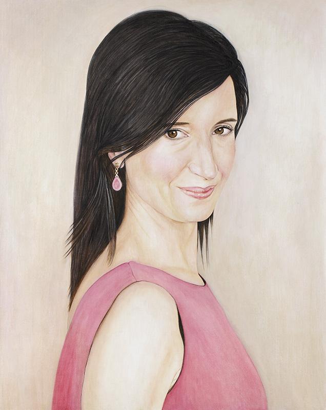 Monse - Marleen Maria ten Have – Amsterdam - Schilderijen, paintings, portretten, portraits