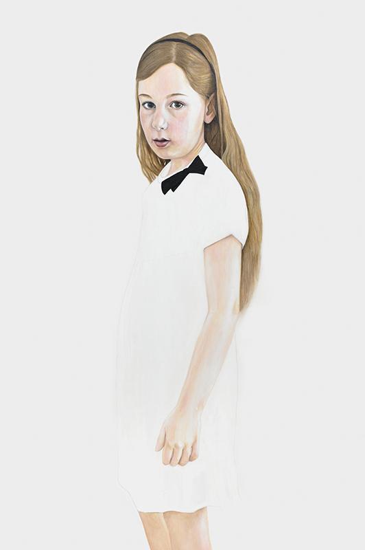 Hannah nine - Marleen Maria ten Have – Amsterdam - Schilderijen, paintings, portretten, portraits